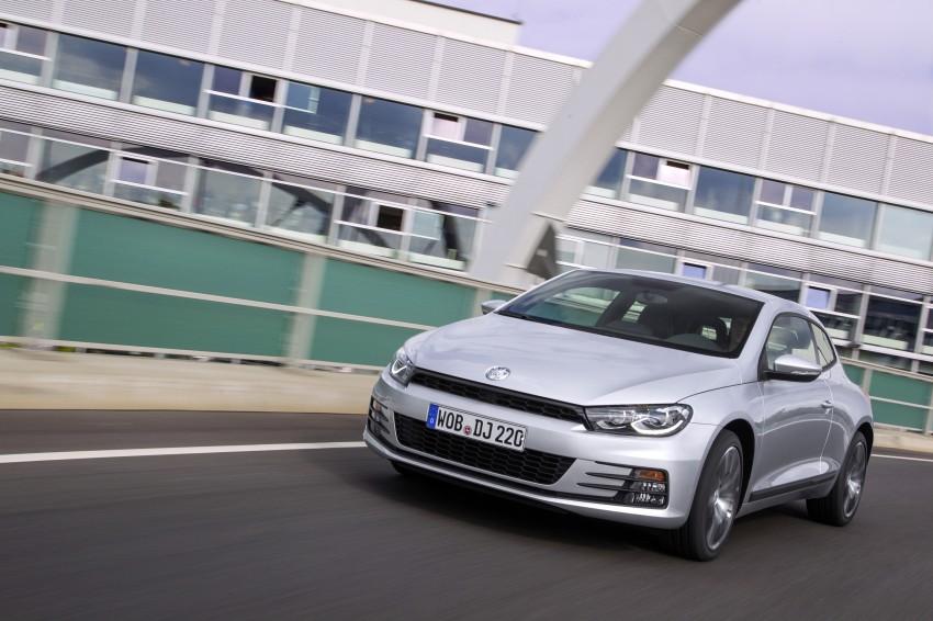 Volkswagen Scirocco – third-gen gets a facelift Image #272177