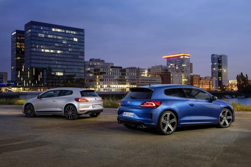 Volkswagen Scirocco – third-gen gets a facelift Image #272178