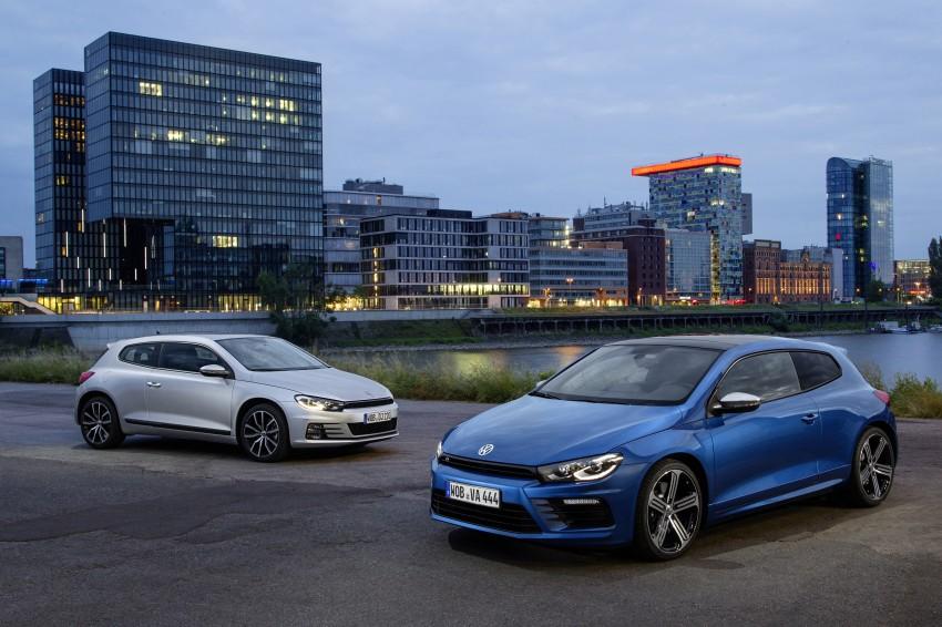 Volkswagen Scirocco – third-gen gets a facelift Image #272179