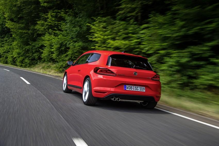 Volkswagen Scirocco – third-gen gets a facelift Image #272184