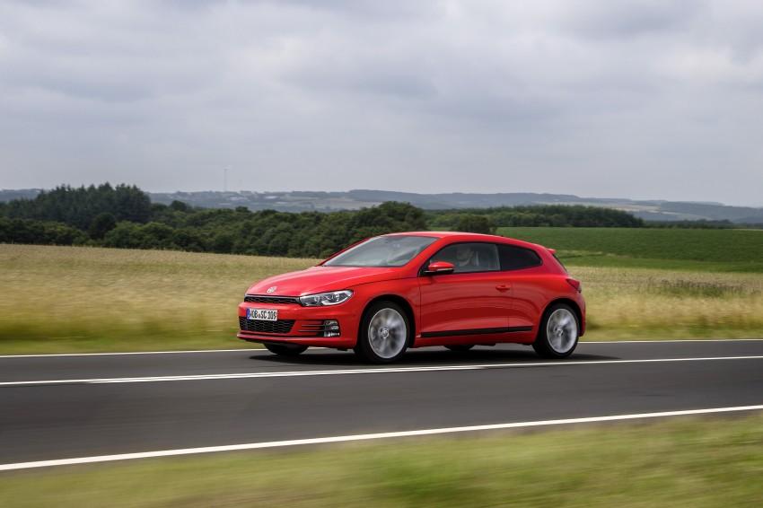 Volkswagen Scirocco – third-gen gets a facelift Image #272186