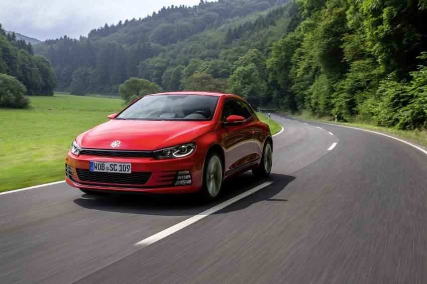 Volkswagen Scirocco – third-gen gets a facelift Image #272187