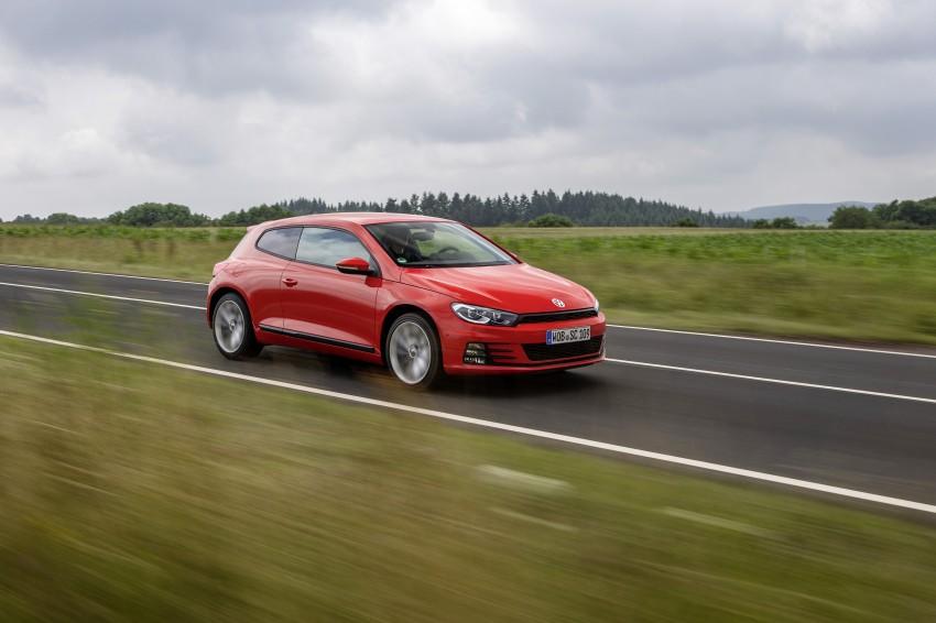 Volkswagen Scirocco – third-gen gets a facelift Image #272189