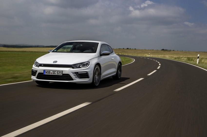 Volkswagen Scirocco – third-gen gets a facelift Image #272192