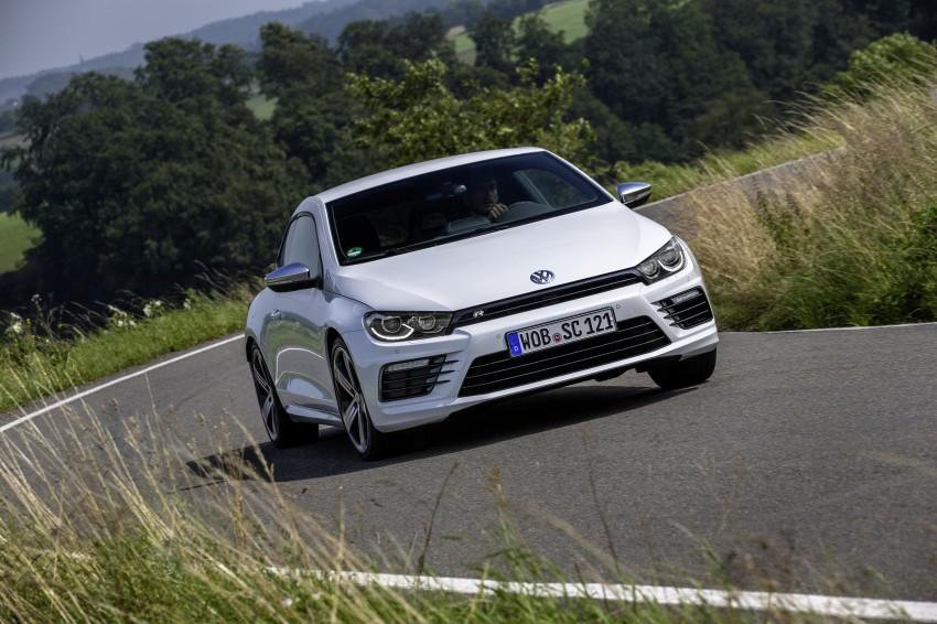 Volkswagen Scirocco – third-gen gets a facelift Image #272195