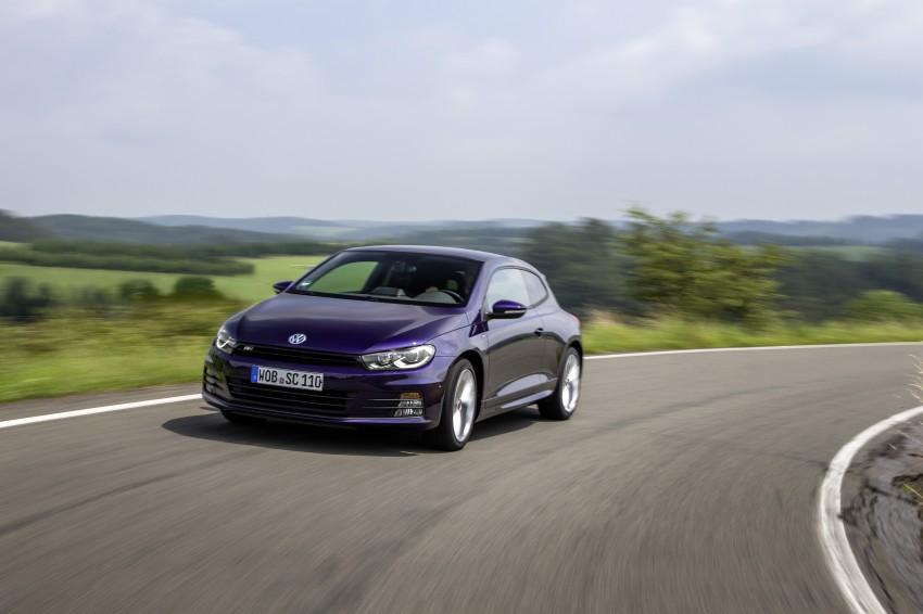 Volkswagen Scirocco – third-gen gets a facelift Image #272200