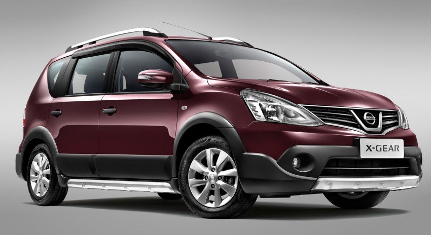 Nissan X-Gear facelift launched – 1.6 auto, RM89,800 Image #237454