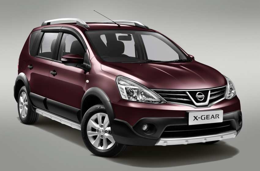 Nissan X-Gear facelift launched – 1.6 auto, RM89,800 Image #237455