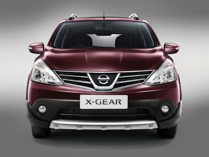 Nissan X-Gear facelift launched – 1.6 auto, RM89,800 Image #237457