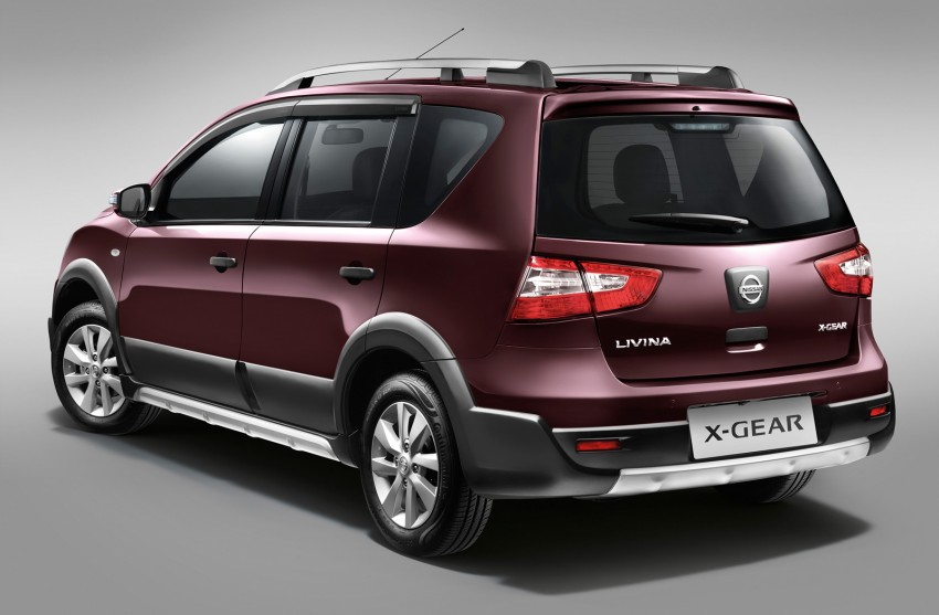 Nissan X-Gear facelift launched – 1.6 auto, RM89,800 Image #237458