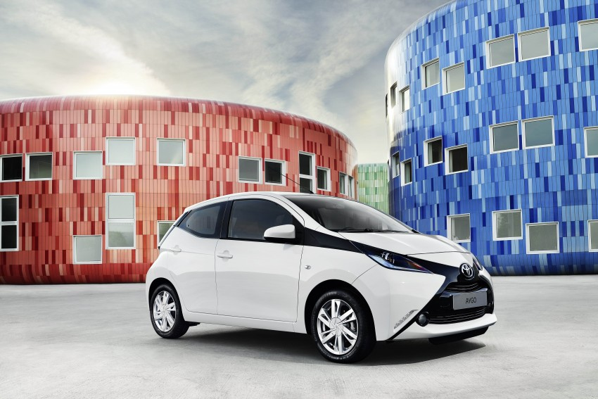 Toyota Aygo – second-gen city car officially unveiled Image #233399