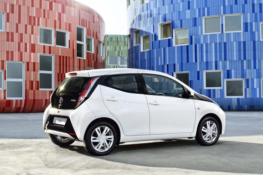 Toyota Aygo – second-gen city car officially unveiled Image #233398