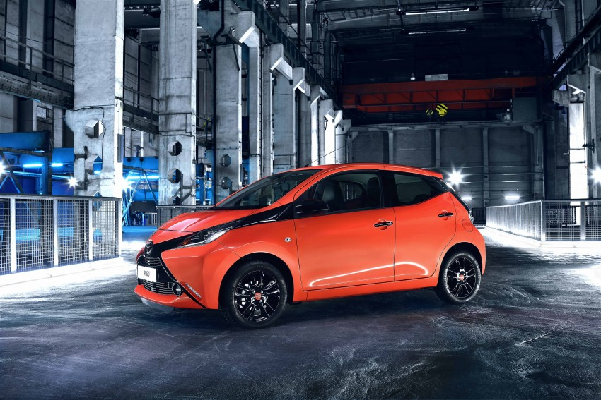 Toyota Aygo – second-gen city car officially unveiled Image #233395