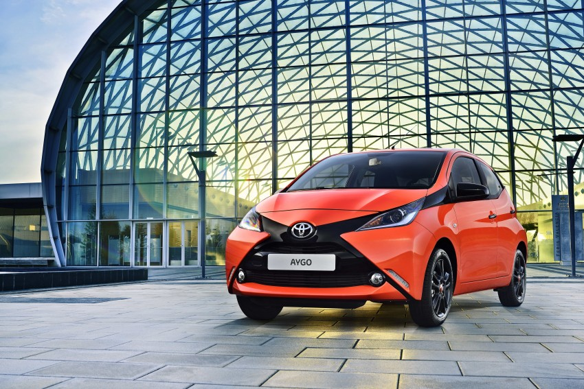 Toyota Aygo – second-gen city car officially unveiled Image #233397