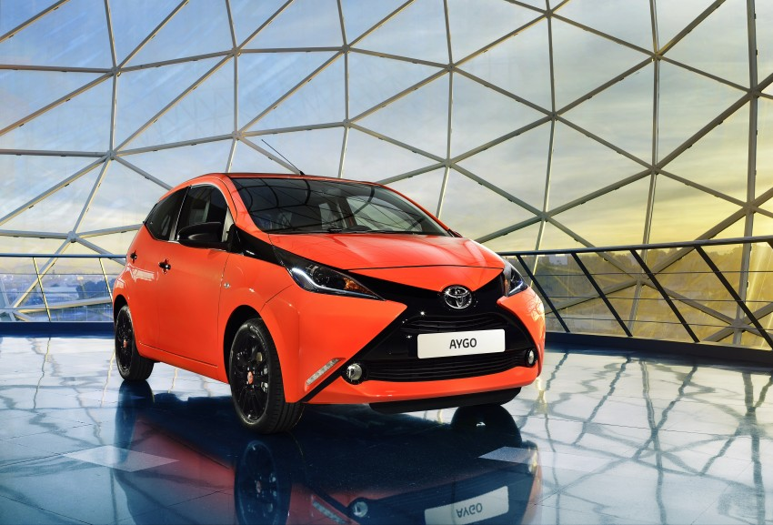 Toyota Aygo – second-gen city car officially unveiled Image #233394