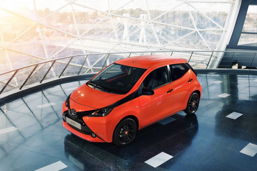 Toyota Aygo – second-gen city car officially unveiled Image #233392