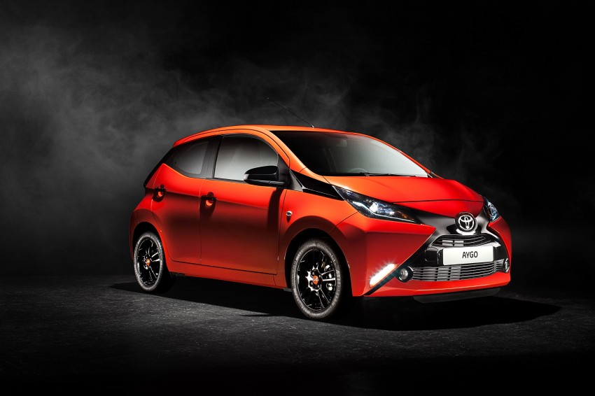 Toyota Aygo – second-gen city car officially unveiled Image #233391