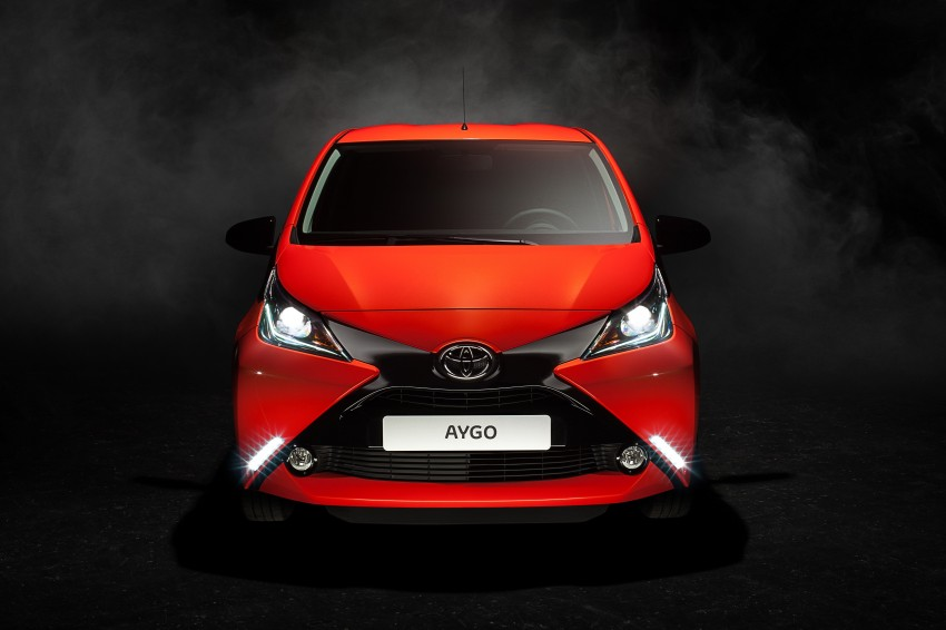 Toyota Aygo – second-gen city car officially unveiled Image #233389