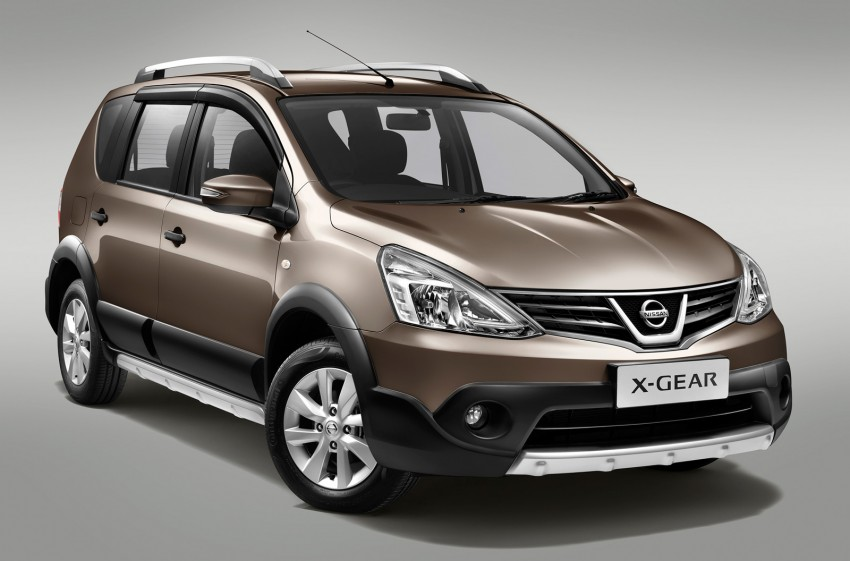 Nissan X-Gear facelift launched – 1.6 auto, RM89,800 Image #237459