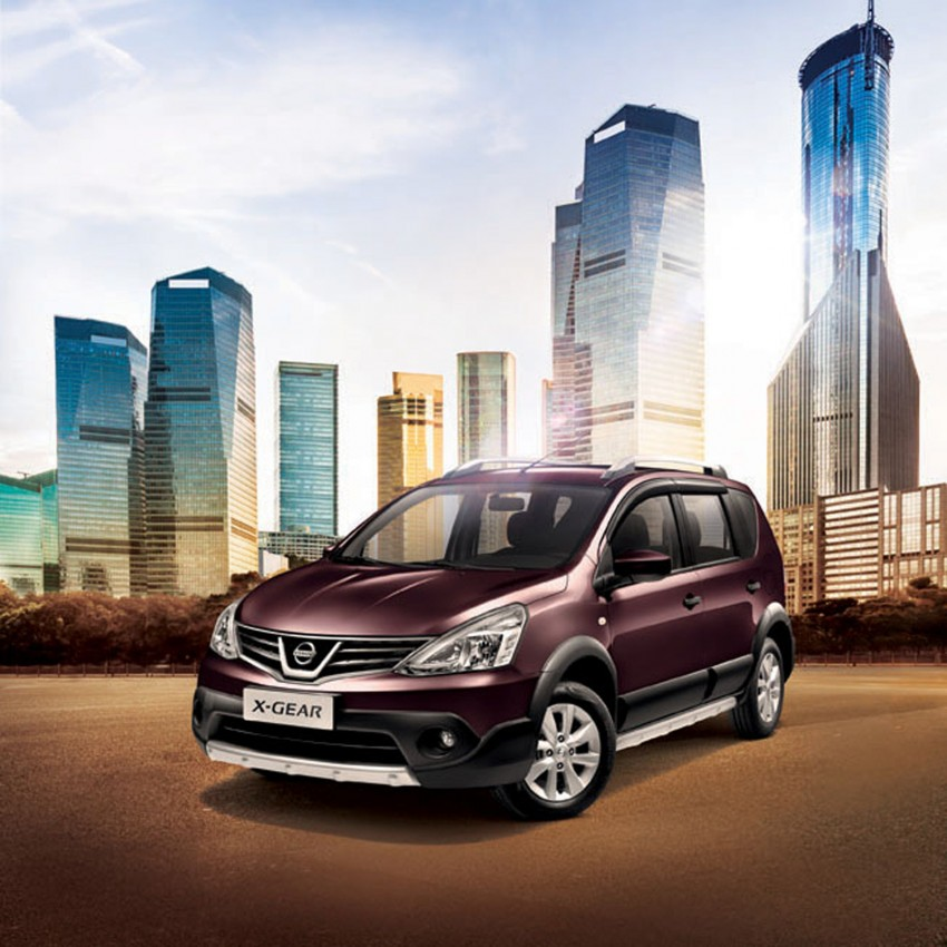 Nissan X-Gear facelift launched – 1.6 auto, RM89,800 Image #237471