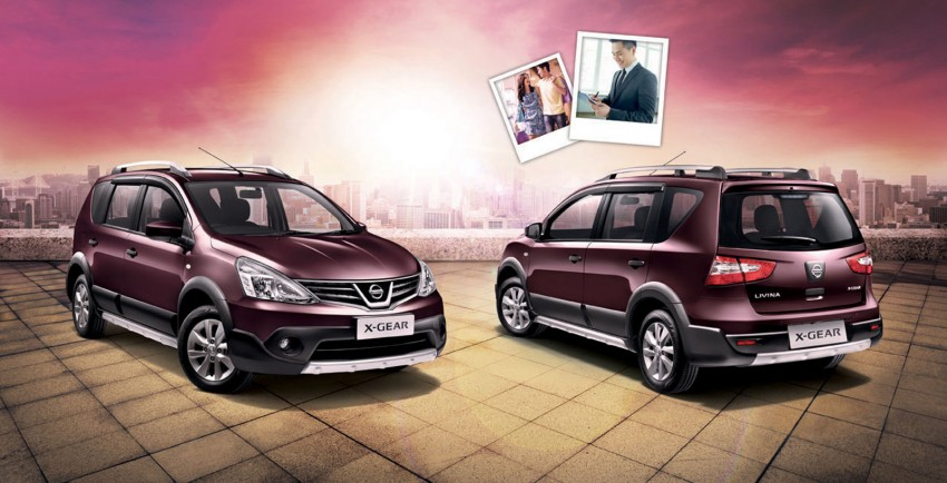 Nissan X-Gear facelift launched – 1.6 auto, RM89,800 Image #237473