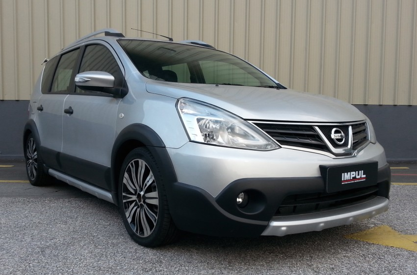 Nissan X-Gear facelift launched – 1.6 auto, RM89,800 Image #237477