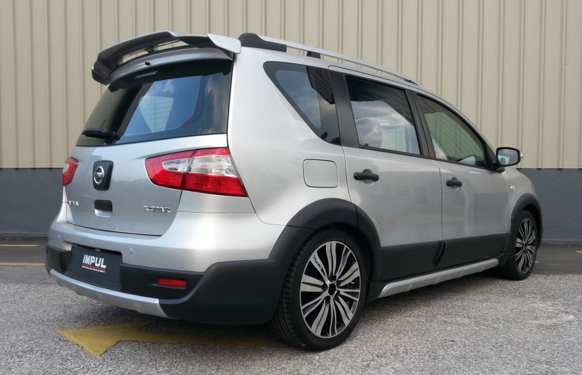 Nissan X-Gear facelift launched – 1.6 auto, RM89,800 Image #237478