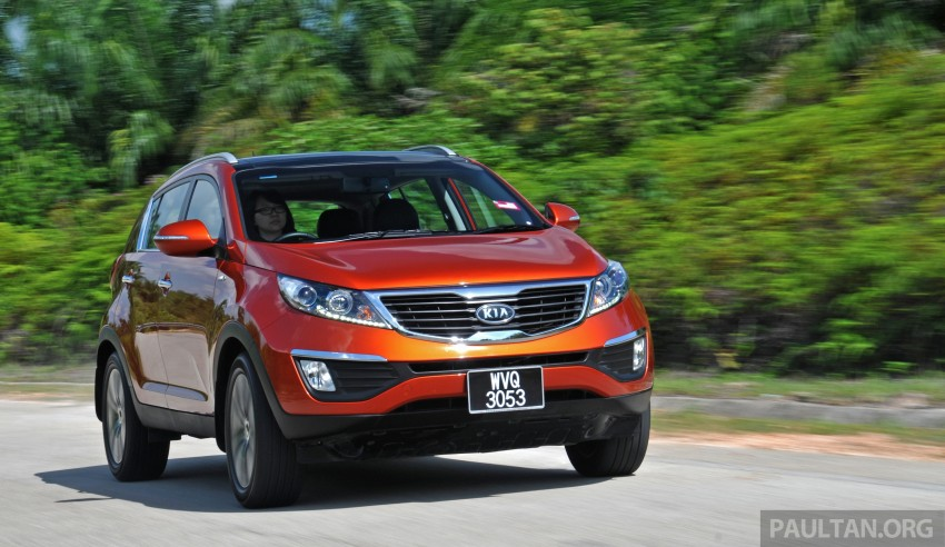 Kia Sportage facelift now open for booking in Malaysia Image #234200
