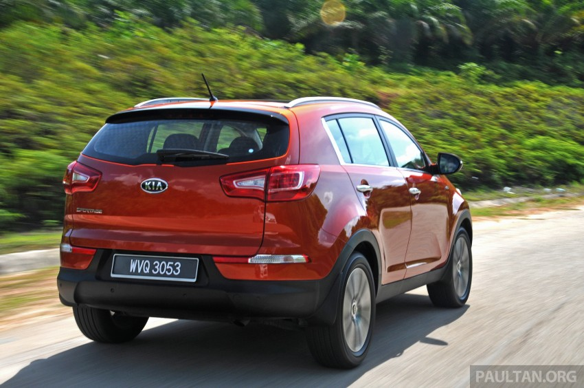 Kia Sportage facelift now open for booking in Malaysia Image #234201