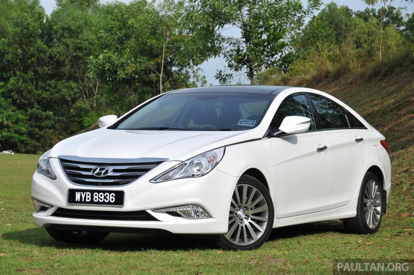 2015 Hyundai Sonata shows its new face in leaked pix Image #235161