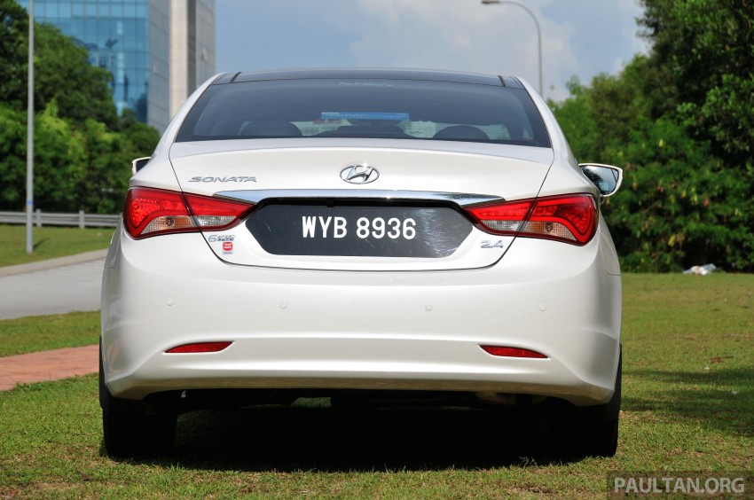 2015 Hyundai Sonata shows its new face in leaked pix Image #235165