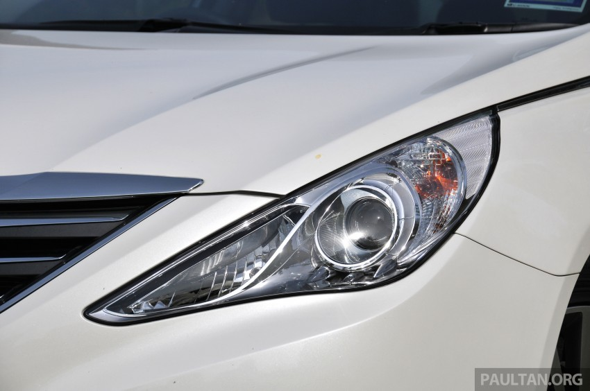 2015 Hyundai Sonata shows its new face in leaked pix Image #235166
