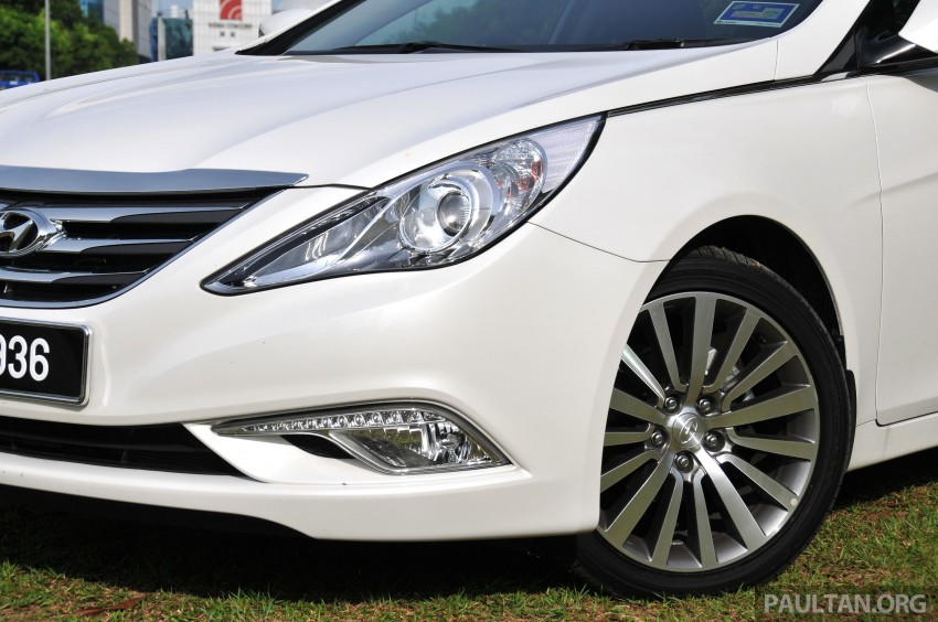 2015 Hyundai Sonata shows its new face in leaked pix Image #235169