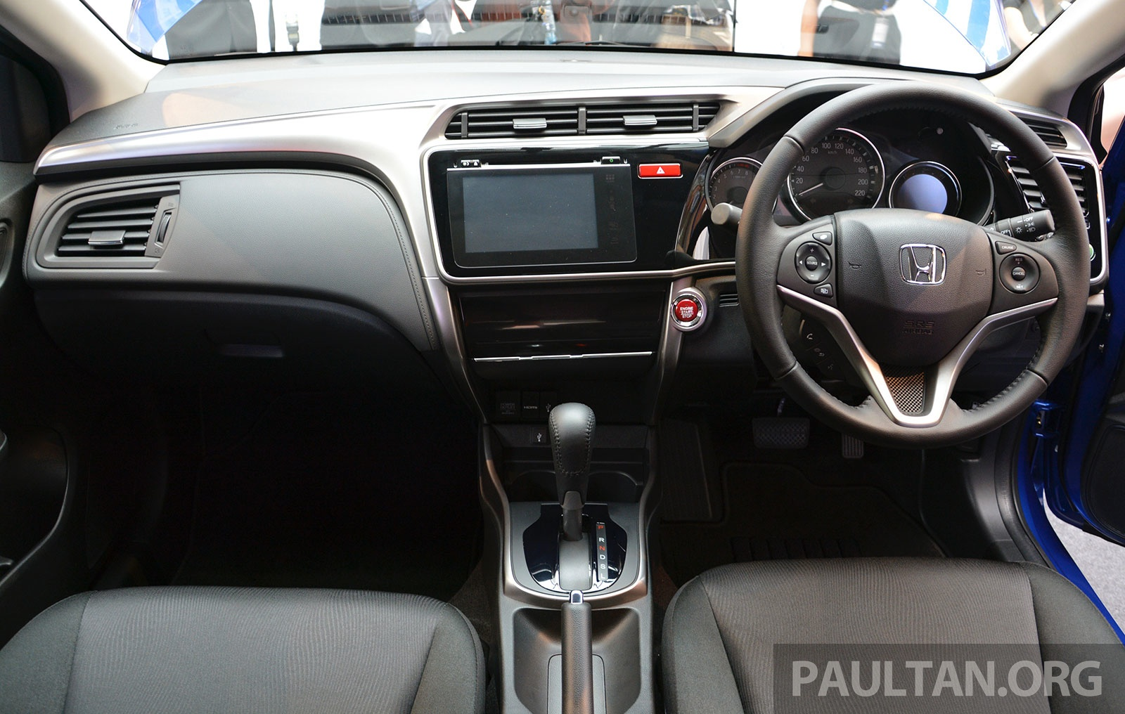 New 2014 Honda City Interiors