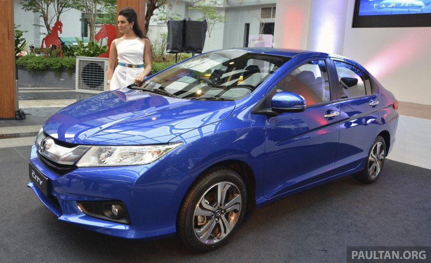 2014 Honda City launched in Malaysia, from RM76k Image #236344