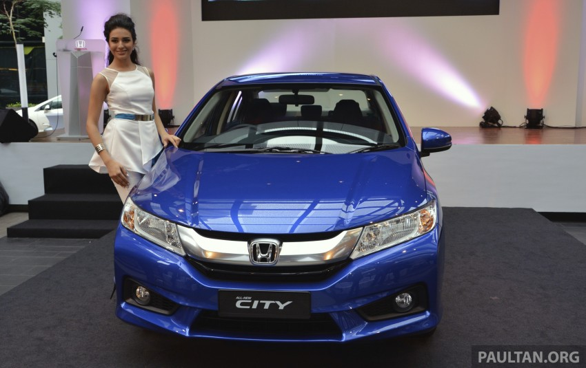 2014 Honda City launched in Malaysia, from RM76k Image #236343