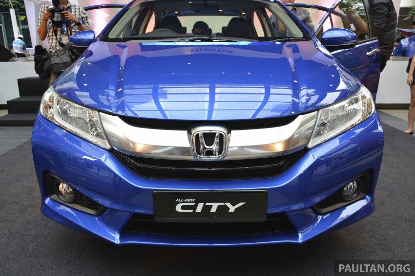 2014 Honda City launched in Malaysia, from RM76k Image #236356