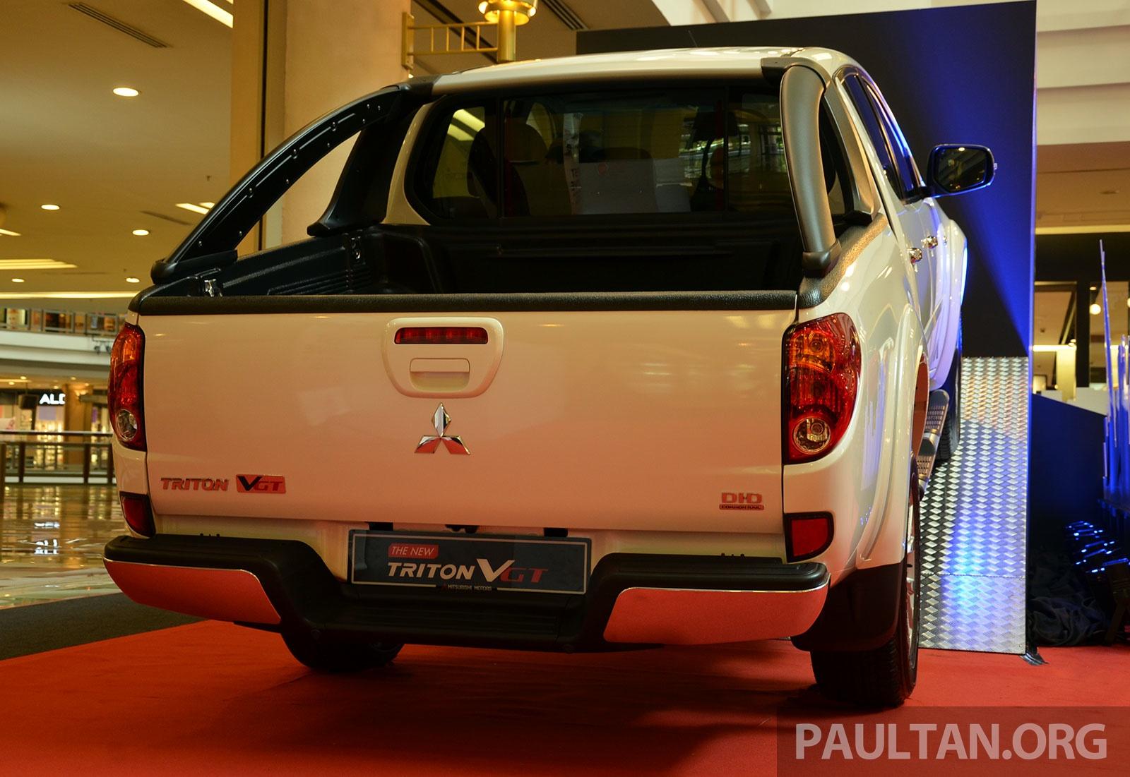 Mitsubishi Triton facelifted for 2014, Pajero Sport grille