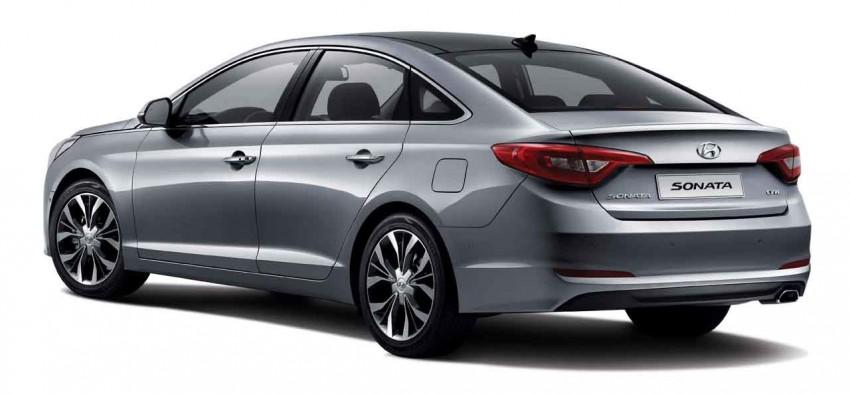 2015 Hyundai Sonata makes its world debut in Korea Image #236900