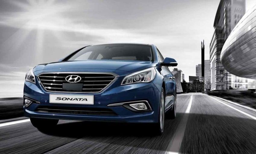 2015 Hyundai Sonata makes its world debut in Korea Image #236901