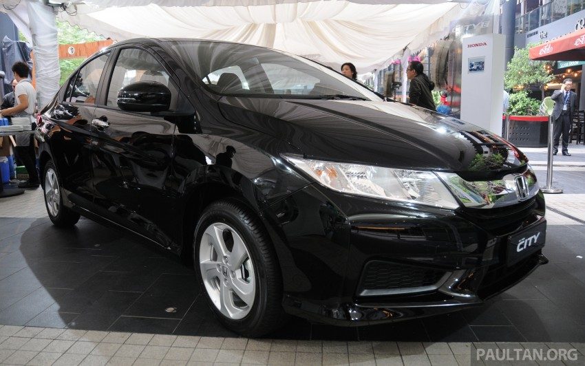 GALLERY: 2014 Honda City spec-by-spec comparison Image #236408