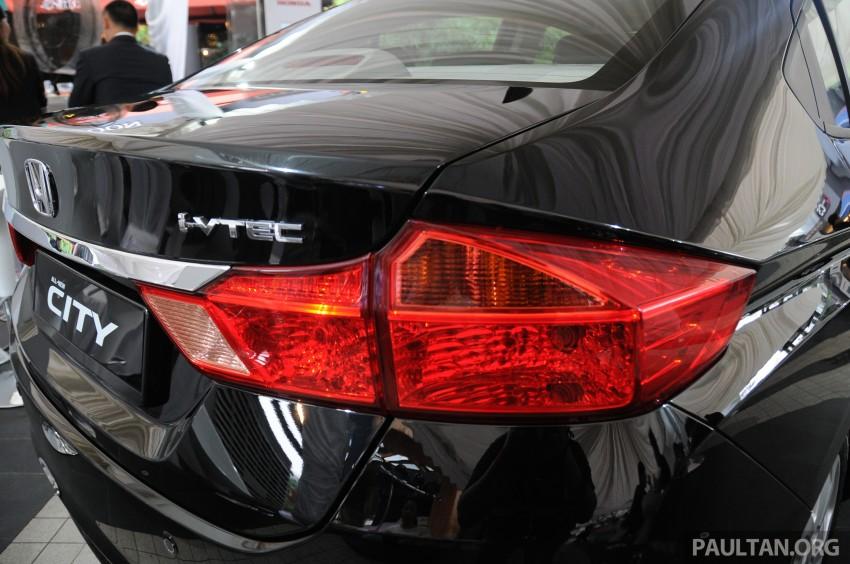 GALLERY: 2014 Honda City spec-by-spec comparison Image #236412