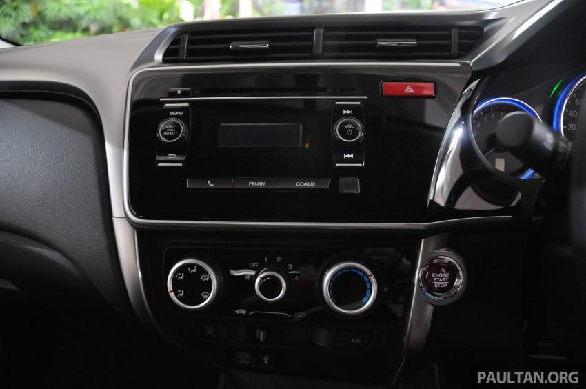 GALLERY: 2014 Honda City spec-by-spec comparison Image #236420