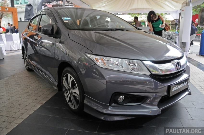 GALLERY: 2014 Honda City spec-by-spec comparison Image #236386