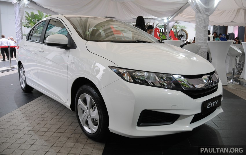 GALLERY: 2014 Honda City spec-by-spec comparison Image #236426