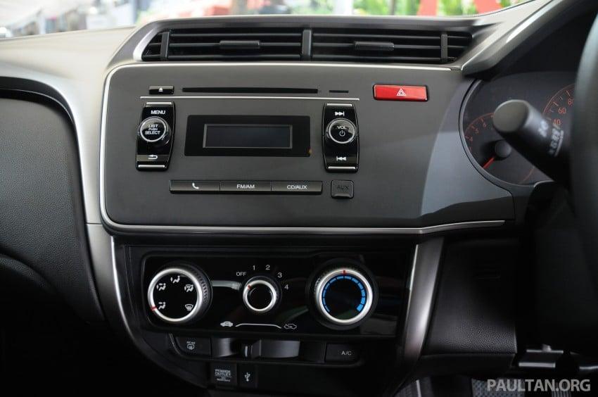 GALLERY: 2014 Honda City spec-by-spec comparison Image #236438