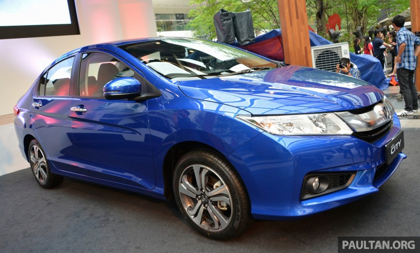 GALLERY: 2014 Honda City spec-by-spec comparison Image #236391