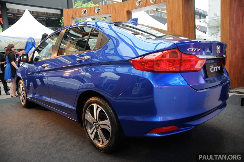 GALLERY: 2014 Honda City spec-by-spec comparison Image #236394