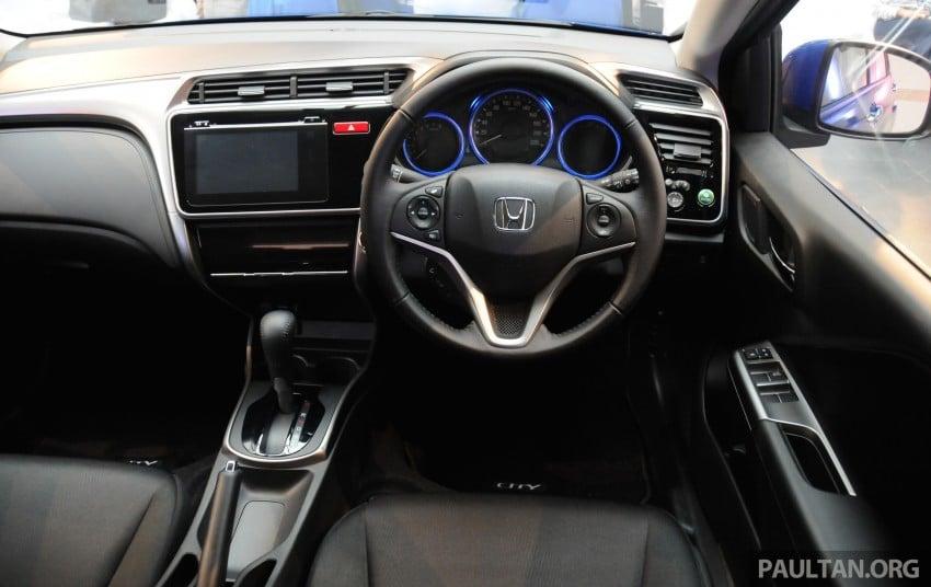 GALLERY: 2014 Honda City spec-by-spec comparison Image #236401