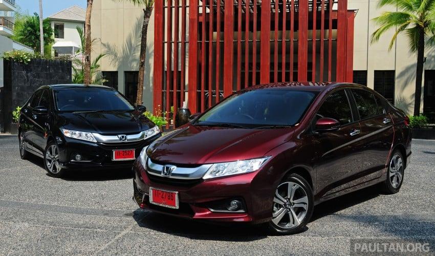 DRIVEN: 2014 Honda City i-VTEC previewed in Phuket Image #232868